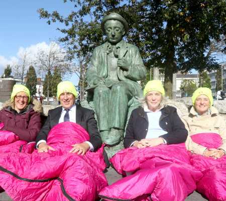 COPE Galway 2018 Business Sleep Out
