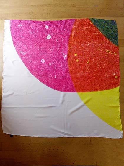 Large coloured Shapes Scarf