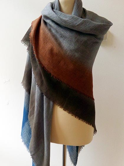 Grey Shaded Scarf