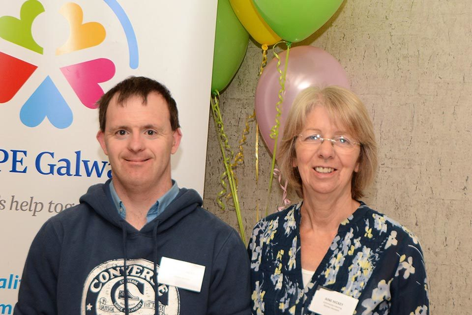 Richard and Aine Hickey, Volunteers
