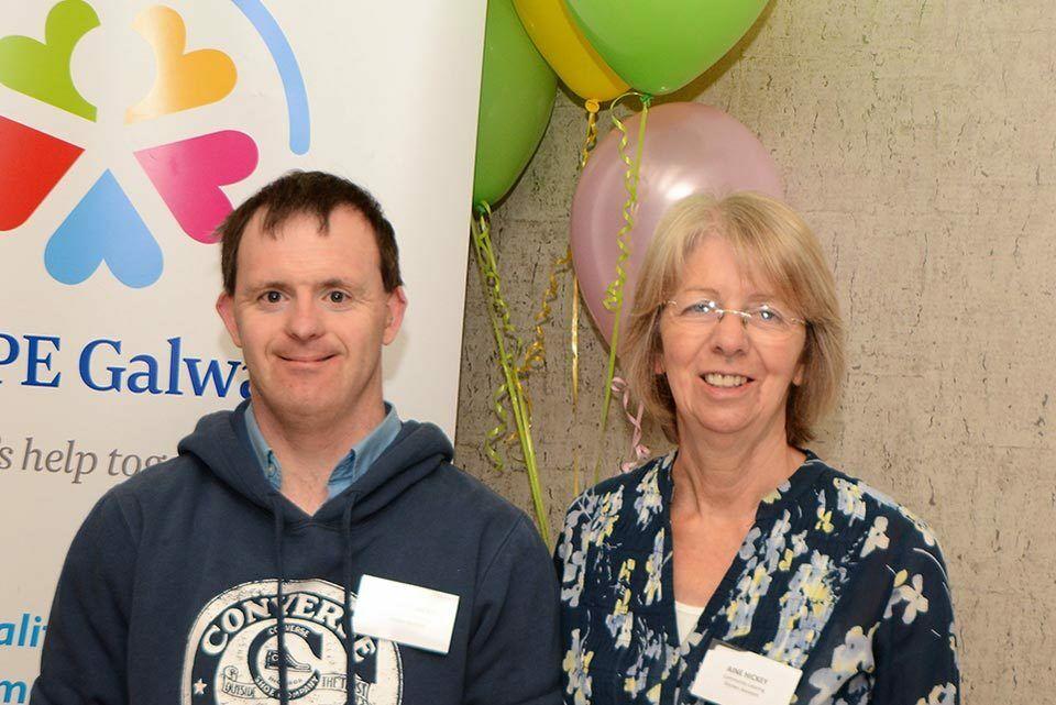 Richard and Aine Hickey, Volunteers