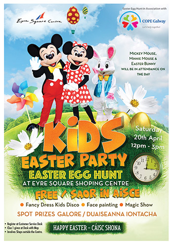 Easter Family Fun Day - COPE Galway