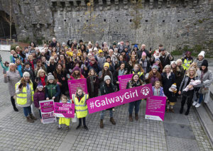 Galway Girl Group Photo at Spanish Arch