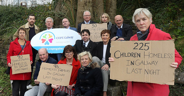 COPE Galway sleep out 2019 launch photo_web